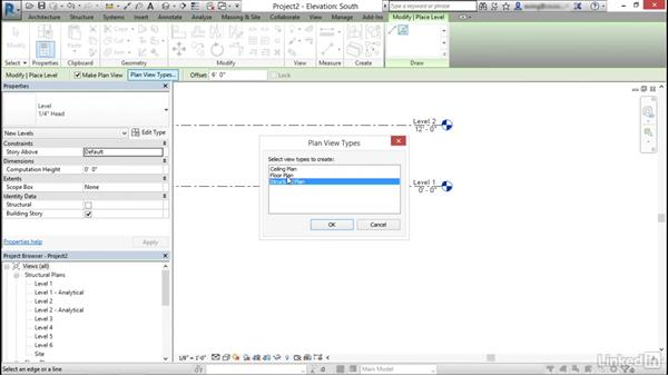 Create and modify levels: Cert Prep: Revit Structure Certified Professional