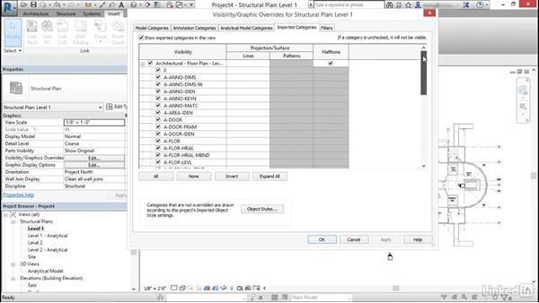 Import AutoCAD files into Revit: Cert Prep: Revit Structure Certified Professional