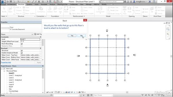 Create concrete slabs and/or floors: Cert Prep: Revit Structure Certified Professional