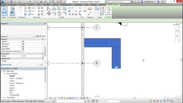 Model ramps: Cert Prep: Revit Structure Certified Professional
