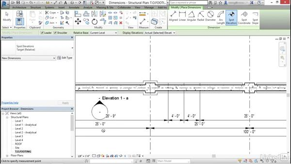 Add and use dimensions: Cert Prep: Revit Structure Certified Professional