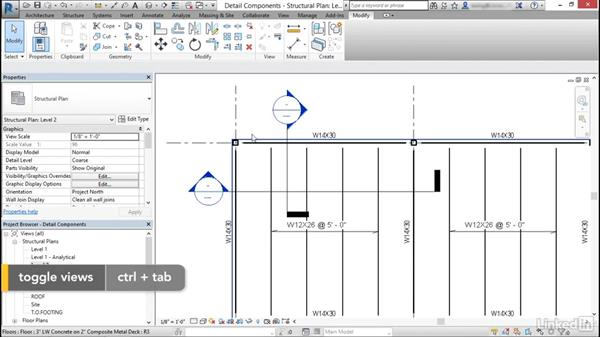 Use detail components: Cert Prep: Revit Structure Certified Professional