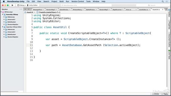 ScriptableObject utility