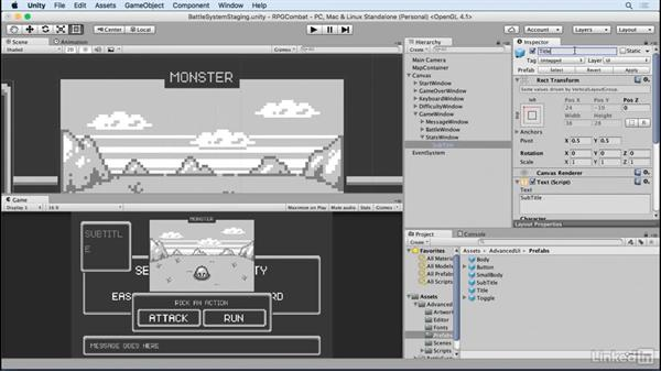 Create a player stat window: Unity 5 2D: Combat in an RPG Game