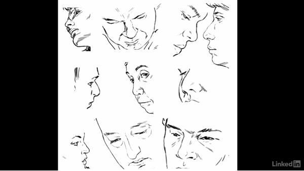 Dessiner Un Nez Selon Le Sexe Et L Age
