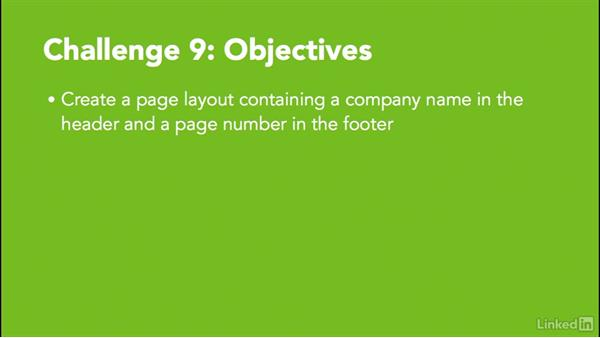 Challenge 9: Create a page layout: MadCap Flare 11 Essential Training