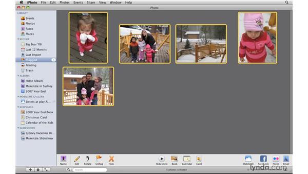 Ordering prints: iPhoto '09 Essential Training