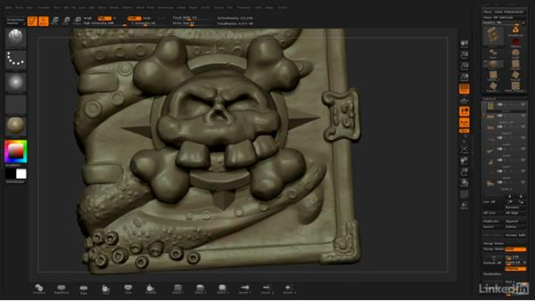 Assembling the book: ZBrush: Stylized Sculpting