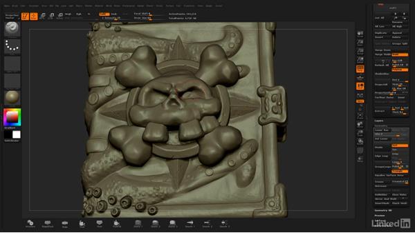Rescaling trick: ZBrush: Stylized Sculpting