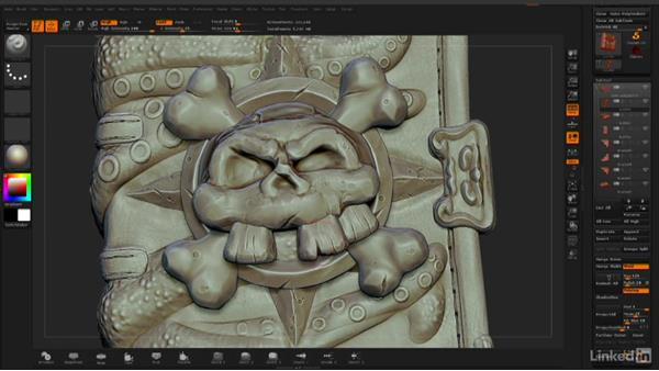 Final wrap-up: ZBrush: Stylized Sculpting