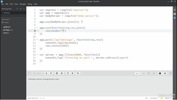 Send a post from Angular to the endpoint: MEAN Stack and MongoDB Development Techniques