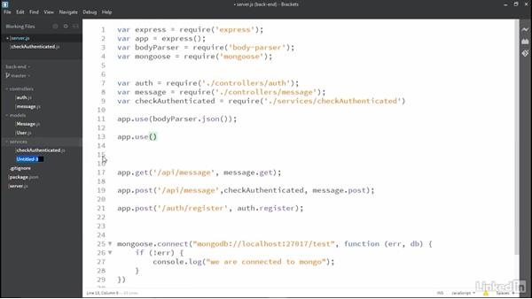 Associate a user with post when making a post: MEAN Stack and MongoDB Development Techniques