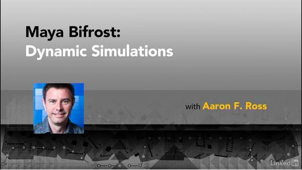 Next steps: Maya Bifröst: Dynamic Simulations