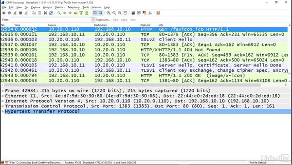 Scan using ICMP: Ethical Hacking: Scanning Networks