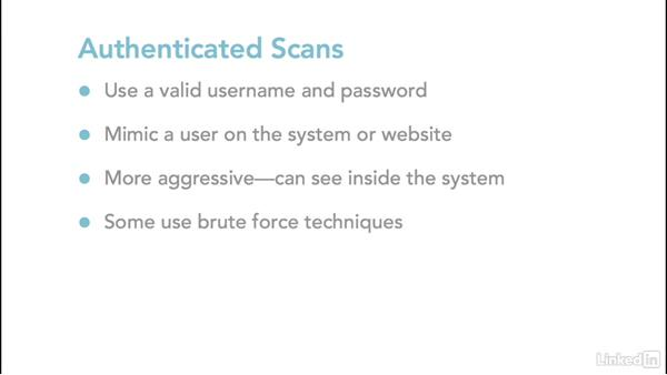 Vulnerability scanning overview: Ethical Hacking: Scanning Networks