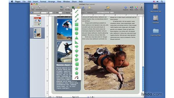 Working with template parts: Pages '09 Essential Training