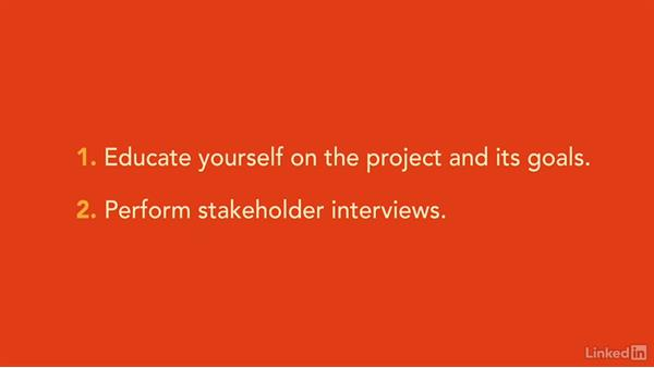 Identify and understand stakeholders: Foundations of UX: Content Strategy