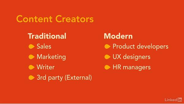 Who creates the content?: Foundations of UX: Content Strategy