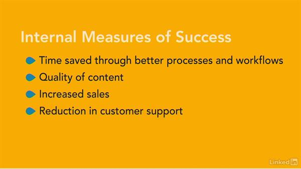 Measuring success: Foundations of UX: Content Strategy