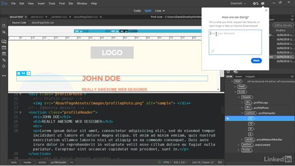 Tell Adobe what you think: Dreamweaver CC Beta: First Look