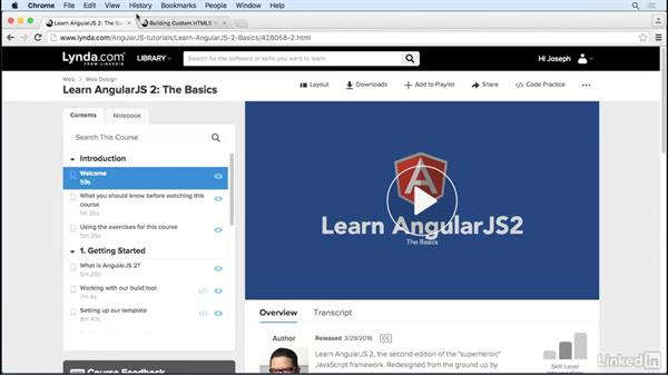 What you should know before taking this course: Building Custom HTML5 Video Playback with Angular 2