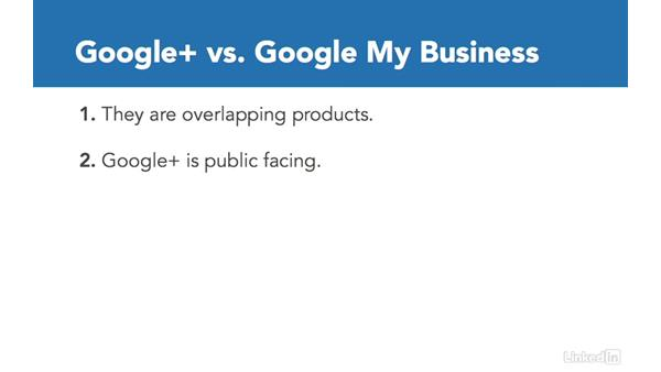 Relationship between Google+ and Google My Business: Google+ for Business