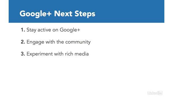 Next steps: Google+ for Business