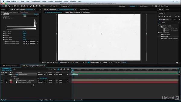 Looping imported image sequence: Motion Graphics Loops 02: After Effects Techniques