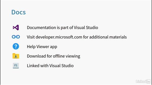 Docs: Learning Universal Windows App Development