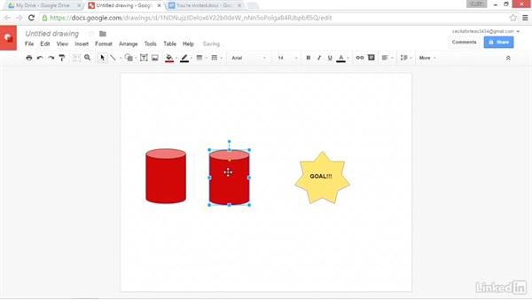 Create flowcharts and icons for documents: Google Drive Advanced Tips and Tricks