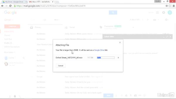 Attach large files to Gmail: Google Drive Advanced Tips and Tricks