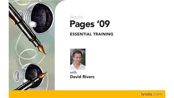 Goodbye: Pages '09 Essential Training