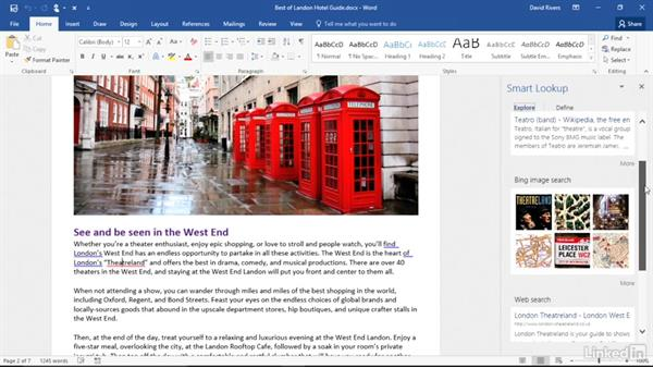 Get Smart Lookup insights: Migrating from Office 2013 to Office 2016