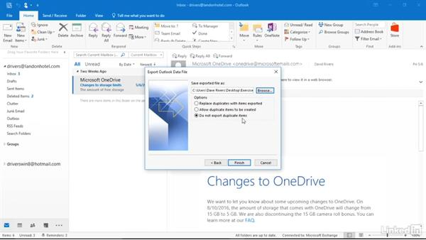 Import your contacts, email, calendars, and more: Migrating from Office 2013 to Office 2016