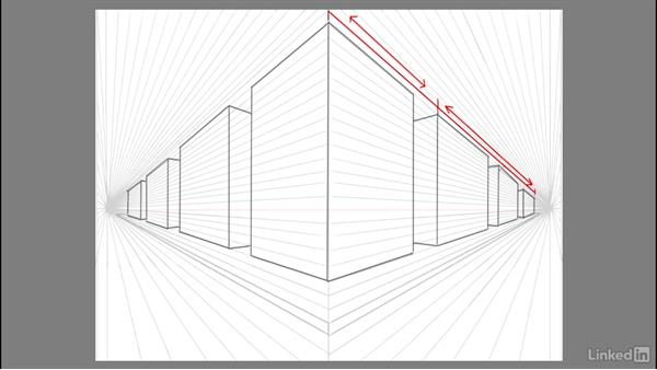 Transforming blocks to buildings: Drawing 2-Point Perspective