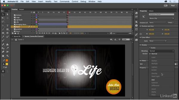 Creating HTML content: Adobe Animate CC for Web Designers