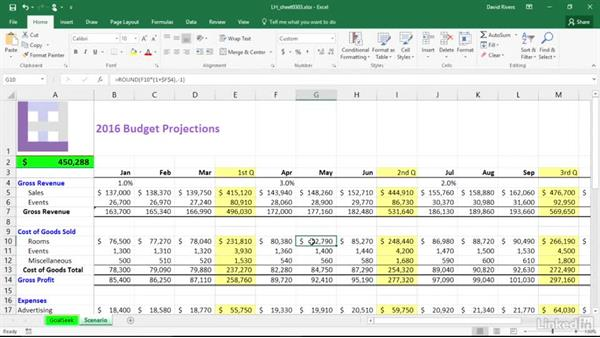 Create charts quickly: Migrating from Office 2010 to Office 2016