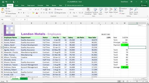 Format tables and sheets: Migrating from Office 2010 to Office 2016