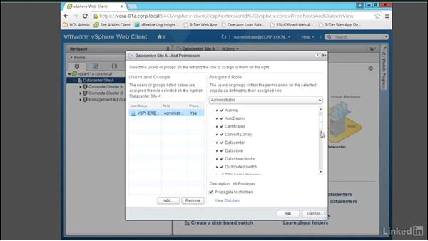 Configure and test role-based access control: Learn VMware NSX: Security