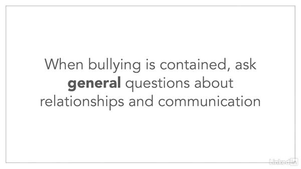 Prevalance assessment: How to Handle Workplace Bullying