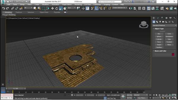 Setting up the grid: Game Art: Environment Kit Design
