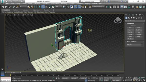 Modular systems you can work with: Game Art: Environment Kit Design