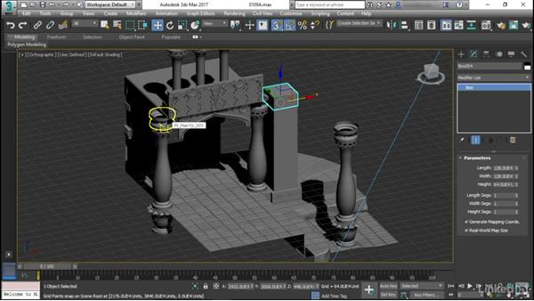 Modeling a simple modular pillar: Game Art: Environment Kit Design
