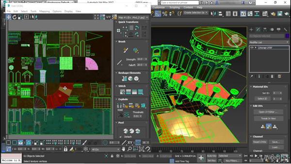UV mapping basics for modular meshes: Game Art: Environment Kit Design