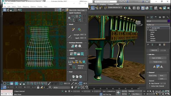 Determining texel density: Game Art: Environment Kit Design