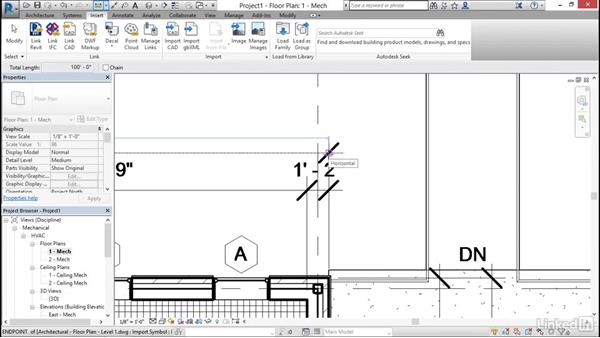 Import AutoCAD files into Revit: Cert Prep: Revit MEP Mechanical & Plumbing Certified Professional