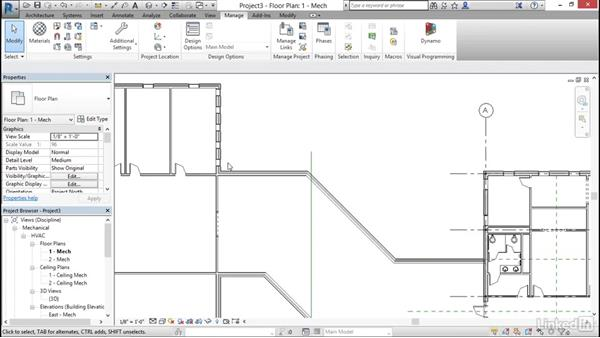 Link Revit models: Cert Prep: Revit MEP Mechanical & Plumbing Certified Professional