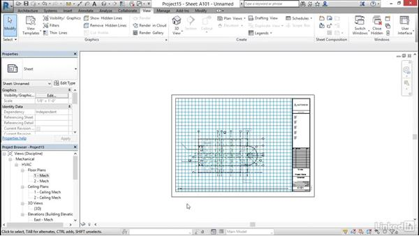 Create sheets: Cert Prep: Revit MEP Mechanical & Plumbing Certified Professional