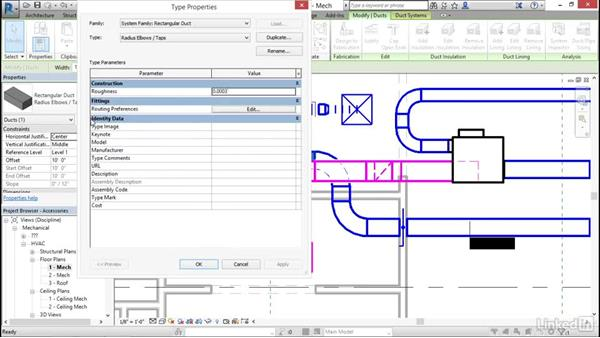 Mechanical: Add and modify duct accessories and fittings: Cert Prep: Revit MEP Mechanical & Plumbing Certified Professional