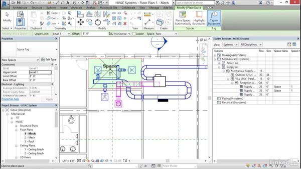 Mechanical: Define a duct system: Cert Prep: Revit MEP Mechanical & Plumbing Certified Professional